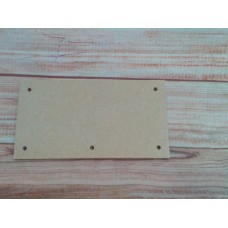 4mm Thick MDF Plaque 150mm